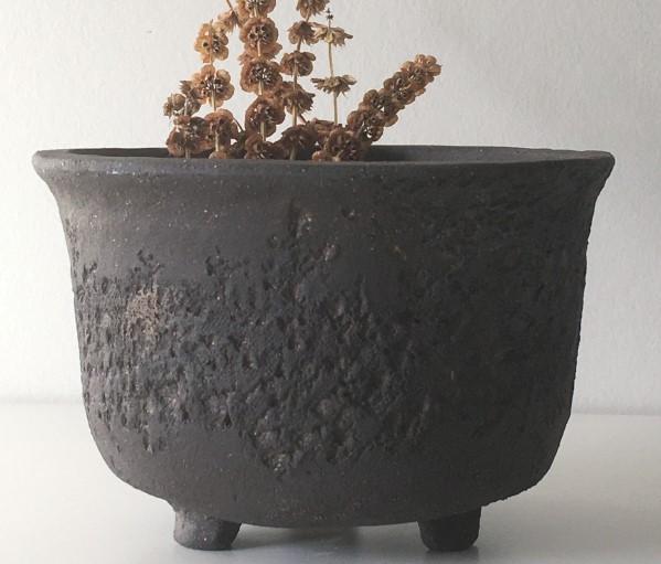 bonsaï pot noir